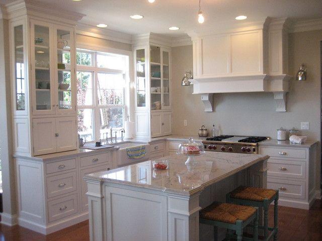 Best Bm Edgecomb Gray And White Dove Cabinet Color Interior 400 x 300