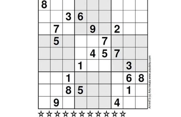 ¿Eres capaz de resolver el sudoku más difícil del mundo?
