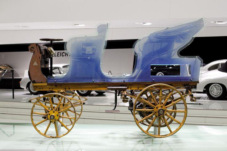 La première Porsche était électrique Porsche_P1_1898_EV (2
