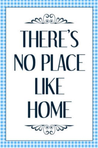 There\u002639;s No Place Like Home Wizard of Oz Movie Quote Poster