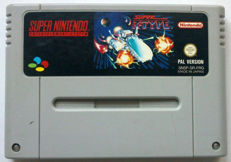 Rare Original SNES Super R-Type game (PAL 1992)