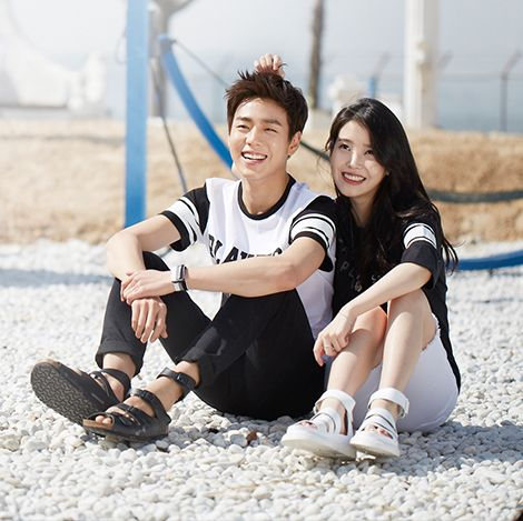 IU and Lee Hyun Woo for Union Bay 2015 Summer Collection