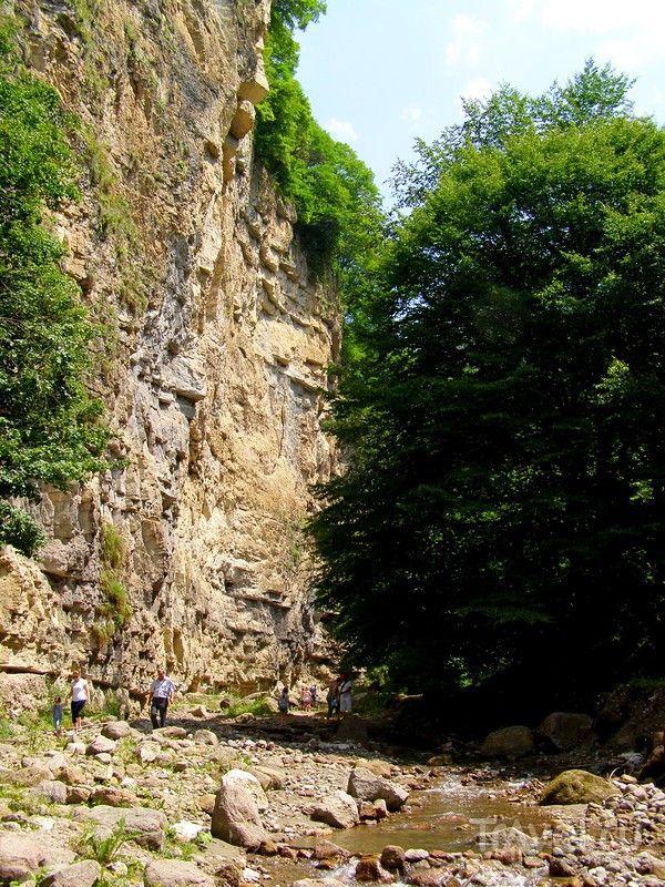 Кабардино-Балкария. Адай-Су, Малый Чегемский водопад