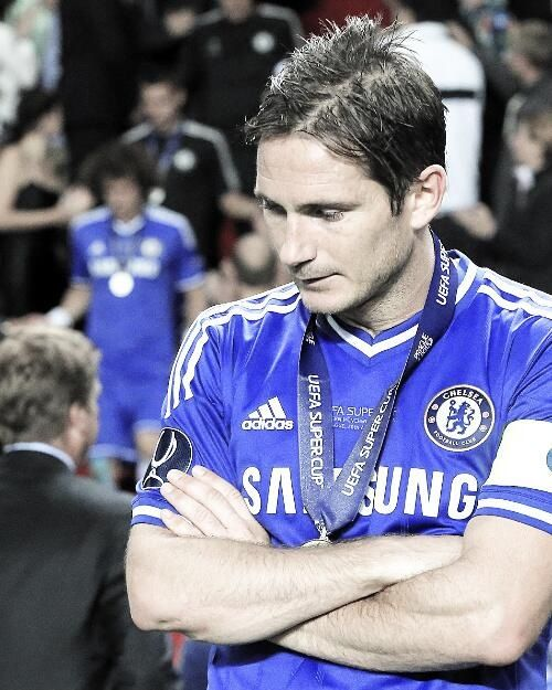 Sir frank Lampard of Chelsea FC