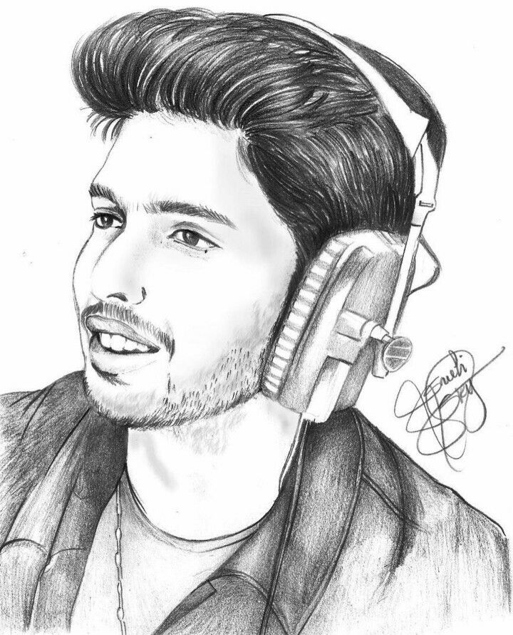 Sketch of Prince AM made by an armaanian