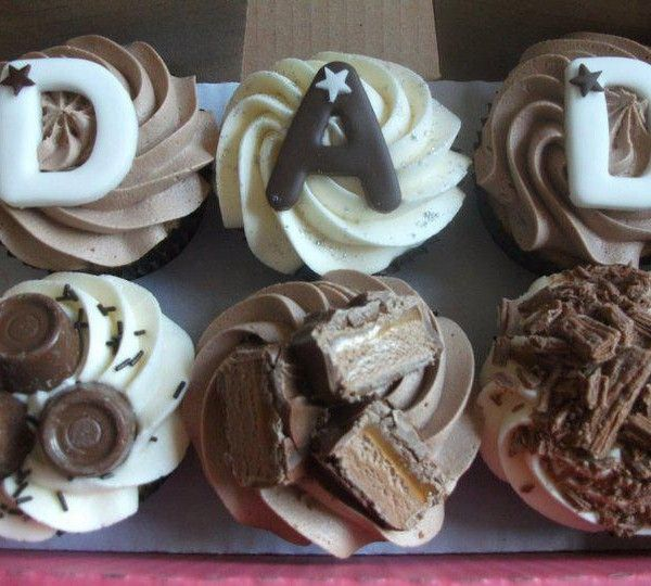 Chocolate Fathers Day Cupcakes | The Cupcake Blog