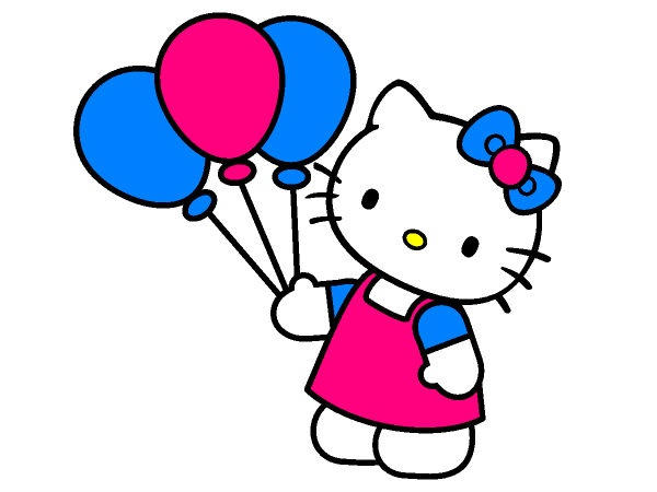 Coloring Page From Coloringpages4u PagesHello Kitty