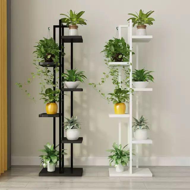 Standing flower shelf .Living room & balcony Plant shelf ...