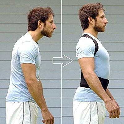 Back brace Posture corrector and back support for backpain and chiropractic posture correction