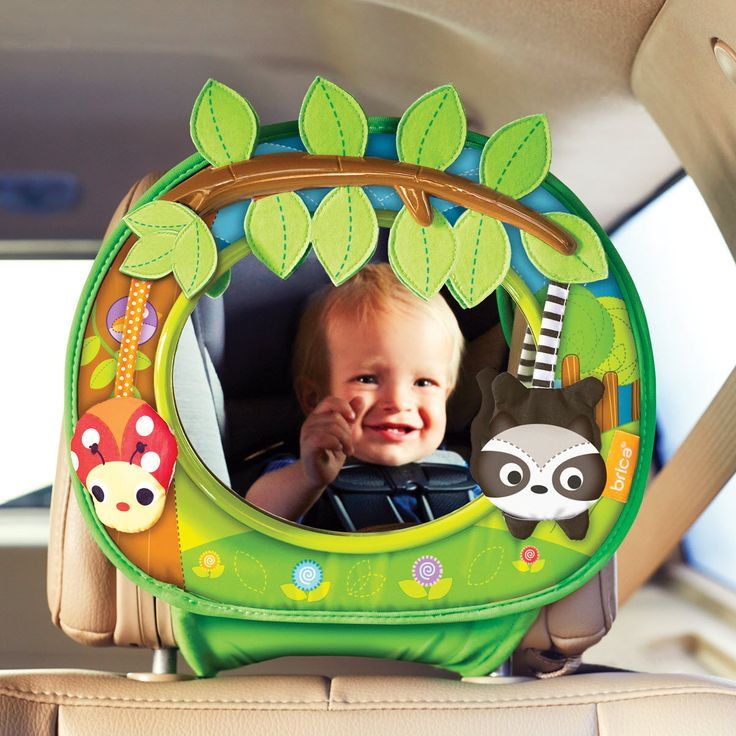 Brica Firefly Baby In Sight Car Mirror Batteries