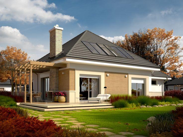 DOM.PL™ - Projekt domu AC Niki G1 (wersja A) ENERGO CE - DOM AF3-04 - gotowy projekt domu