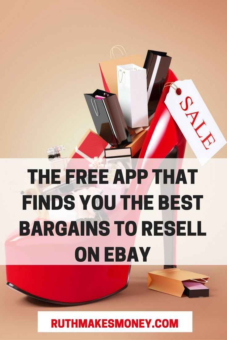 The Free App That Finds You The Best Bargains To Resell On Ebay