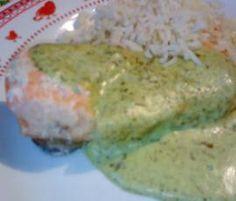 Recette Pavé de saumon sauce à l'oseille par angele77 - recette de la catégorie Poissons