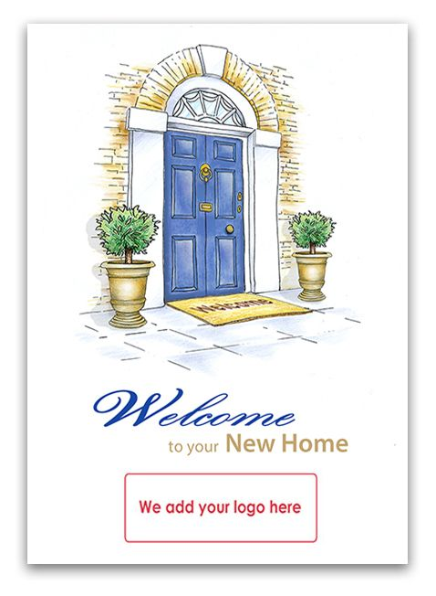 13 best thank you cards for estate agents images on pinterest welcome to your new home greetings card for solicitors to send to their clients m4hsunfo