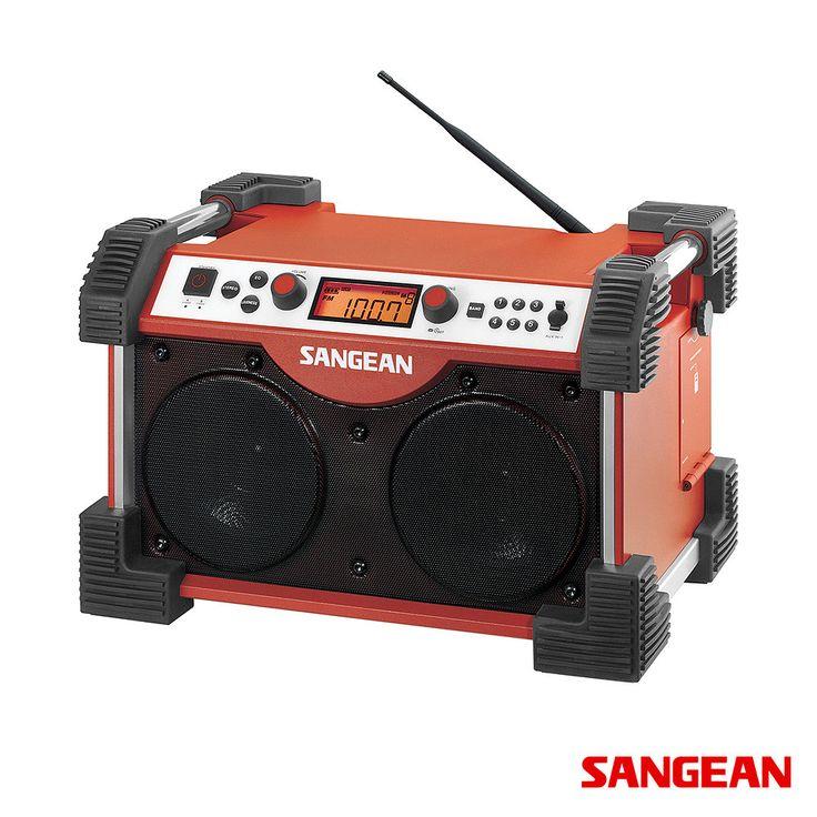 Sangean FATBOX FM / AM / Aux-in Ultra Rugged Radio Receiver