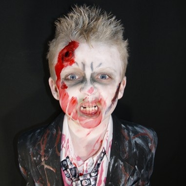 zombie john by elaine arneill halloween facepainting picturesface paintings zombies - Zombie Halloween Faces