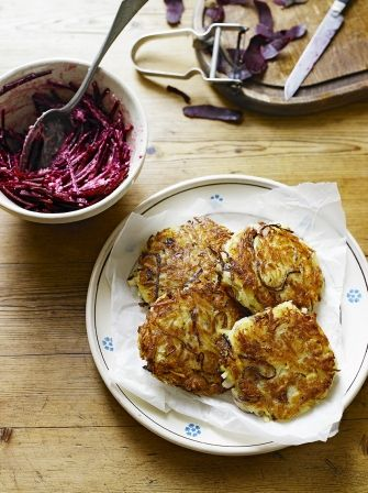 Learn how to make your own moreish potato rosti with this recipe from Jamie Oliver, which breaks making this side dish down into easy-to-follow steps.