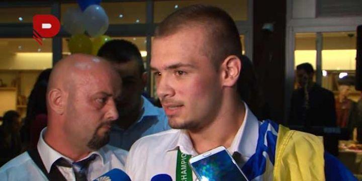 Doček Mirzi Pramenkoviću, koji je nedavno osvojio zlatnu medalju na Svjetskom…