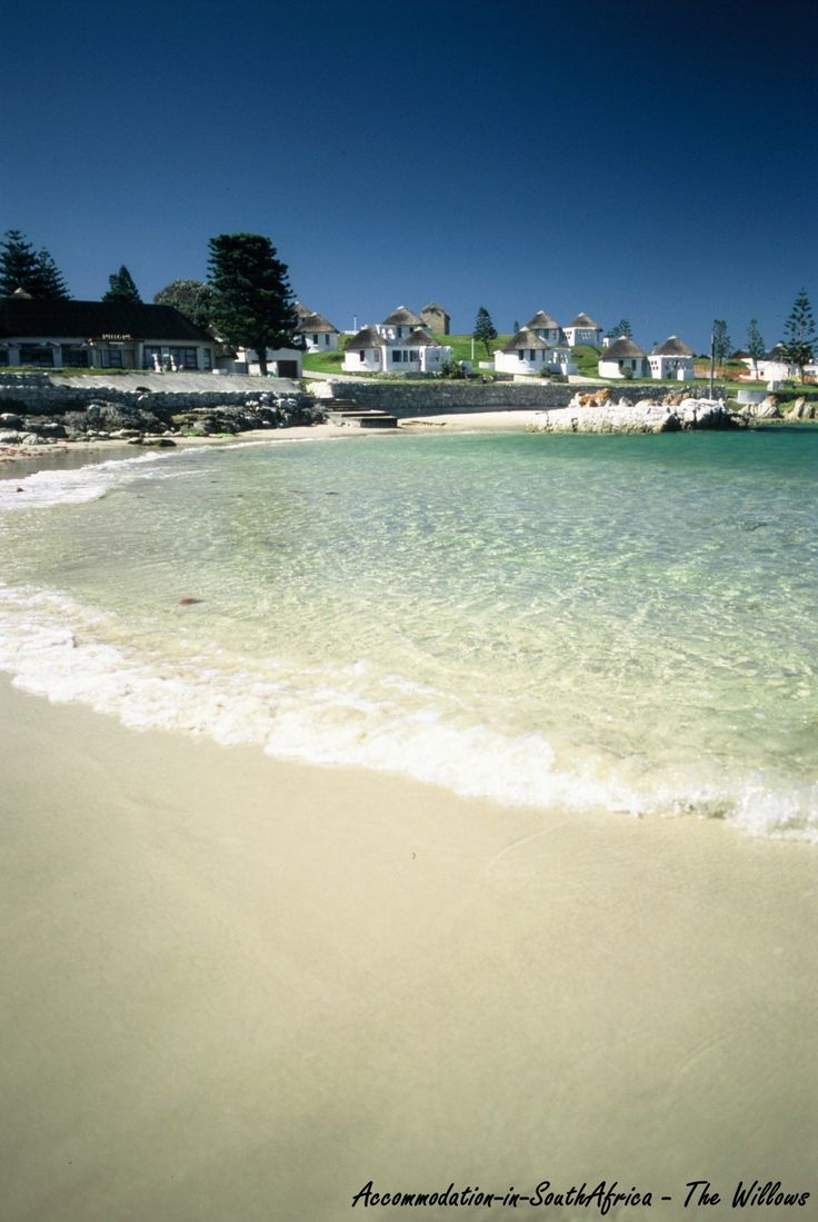 Beautiful beach at The Willows. Accommodation Port Elizabeth.