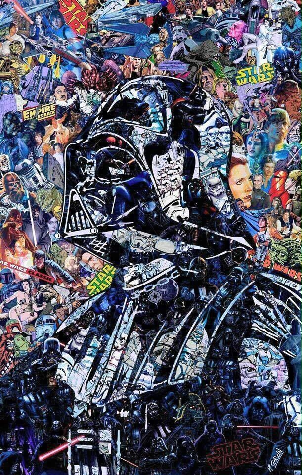 Collage de Darth Vader