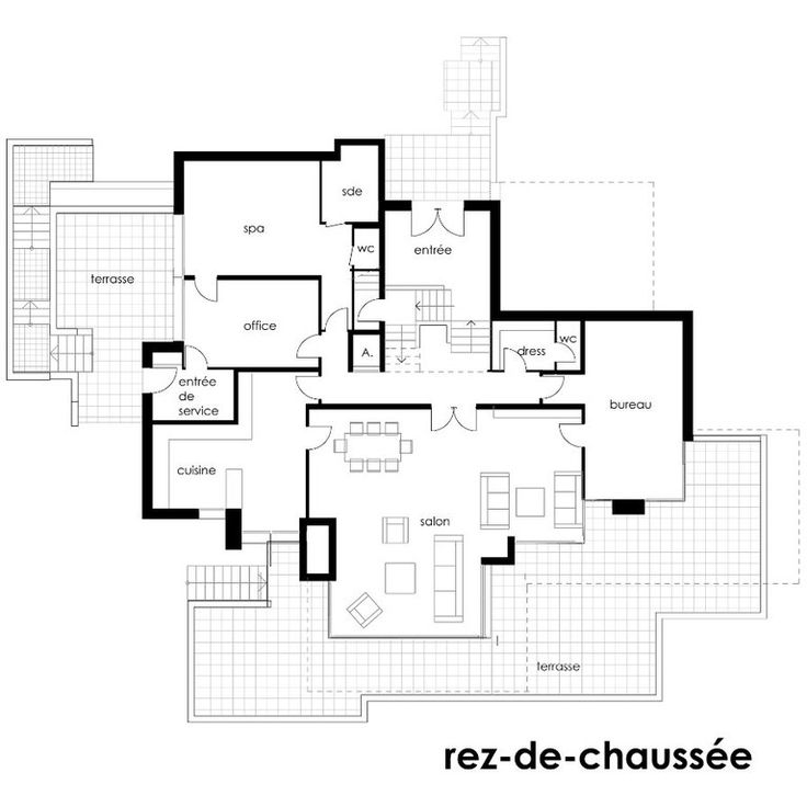 Très 98 best Plan de maison sur 300m2 de terrain images on Pinterest  OX57