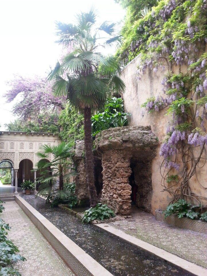 Carmen de los Mártires en Granada, Andalucía