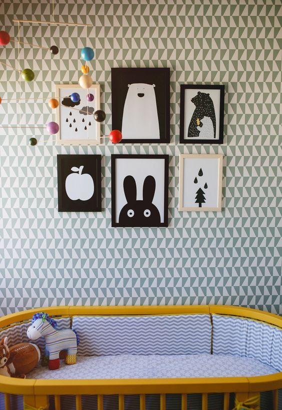 behang in de kinderkamer