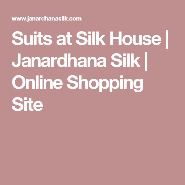 Suits at Silk House | Janardhana Silk | Online Shopping Site