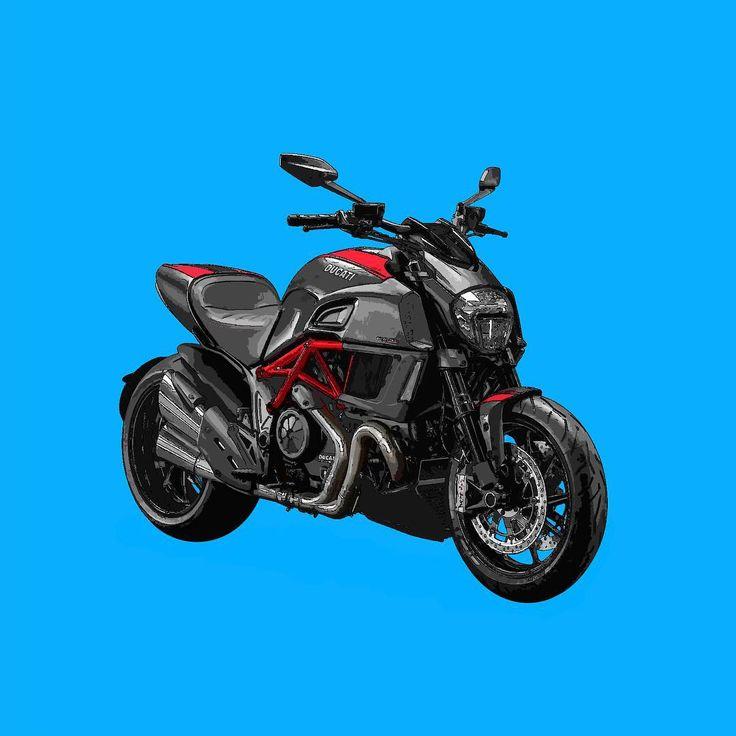 Ducati Diavel  Si te gusta mis trabajos, Sígueme. If you like my artworks, Follow me.  #ducati #diavel #ducatidiavel #ducatistagram #moto #motoducati #motorbike #motorcycle #motocicleta #alvarodintenmoto #diseño #dibujo #design #designer #drawing #draw
