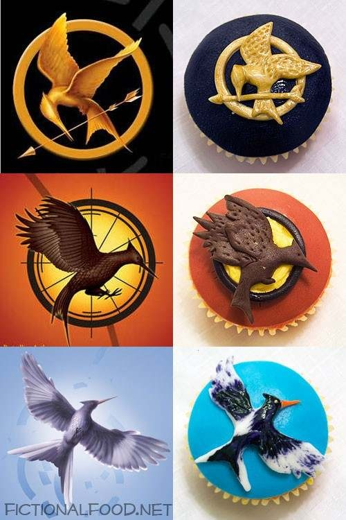 Hunger Games Trilogy Cupcakes! ♥