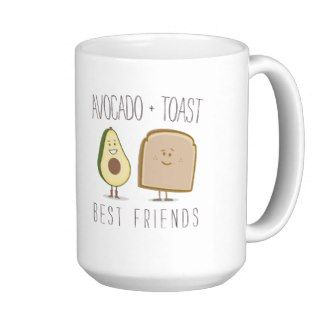 Avocado + Toast Best Friends Funny Mug