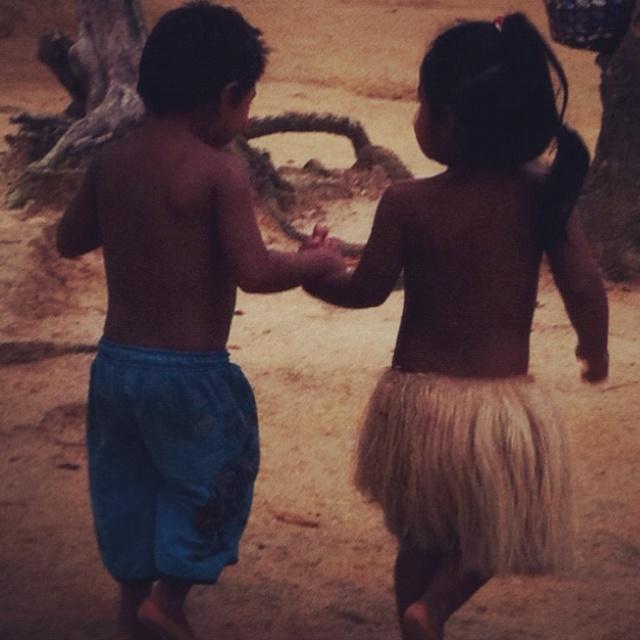 Índios no Amazonas