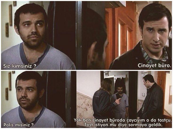 -polis misiniz? -yok... :))) Behzat Ç.