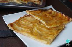 Receta de Tarta de manzana fácil #RecetasGratis #RecetasdeCocina #RecetasFáciles #Postres #PostresFáciles #Desserts #PostresCaseros #Manzana #Tarta