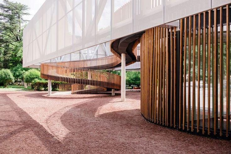Die Mediathek von Labor für Architektur 3 füllt das Defizit der kulturellen Einrichtungen in Tiflis