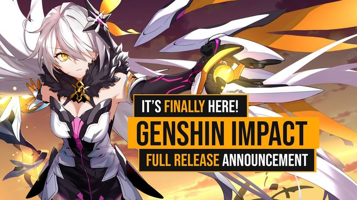 Genshin impact official full release announced in 2020