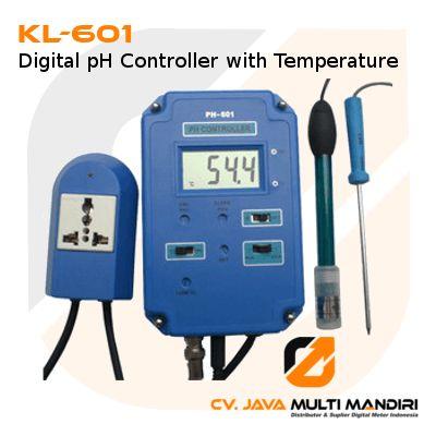 KL-601 Digital pH Controller dengan Suhu