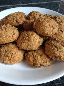 Whole Wheat Pumpkin Chocolate Chip Cookies: http://www.healthstandnutrition.com/whole-wheat-pumpkin-chocolate-chip-cookies/