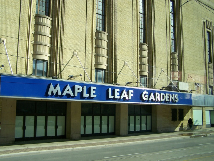 Maple Leaf Gardens - I remember my brother and I running up the stairs from the subway and rushing to our seats.