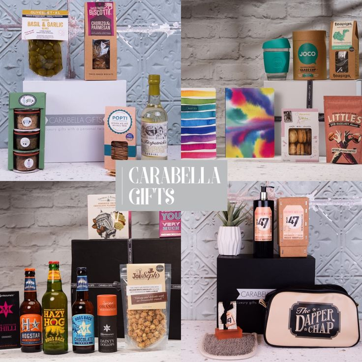 We can help you create a bespoke hamper so you can give a truly unique gift.  With so many options to choose from including food and drink hampers, wine, craft beer, spirits - as well as non-alcoholic versions - tasty artisan goodies, pamper treats and so much more. You can be sure to give a gift that will be loved - www.carabellagifts.com
