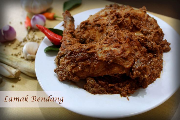 RENDANG AYAM FOR ORDER PLEASE TEXT 62 8111888528 www.rendanglamak.com