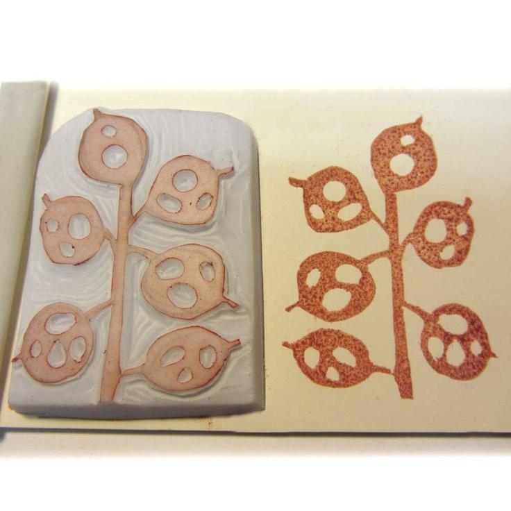Ro Bruhn Art rubber stamp