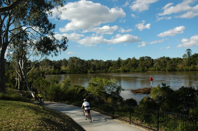 Cycle From Mt Coot-tha to Rocks Riverside