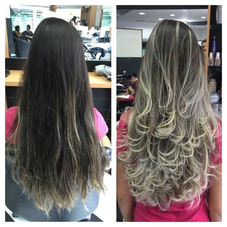cabelo loiro, antes e depois, luzes cabelo cabeleireiro(a) | Projetos para experimentar in 2019 | Pinterest | Hair, Hair 2018 and Hair styles