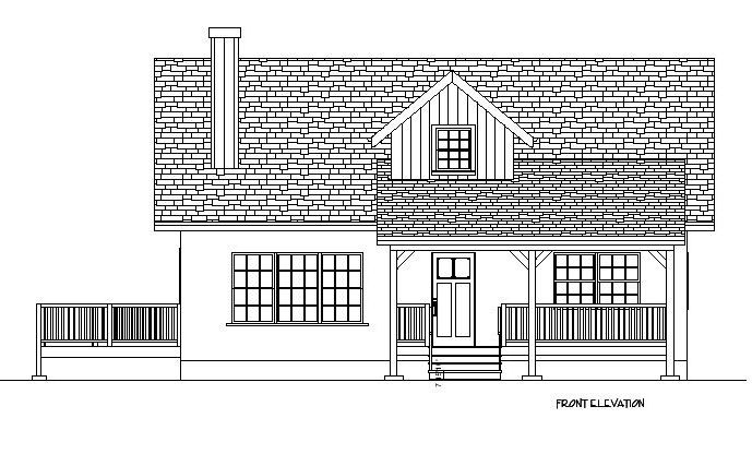 Strawbale Cottage Plan
