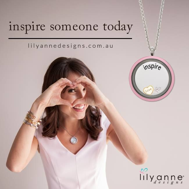 To be inspired is great, to ‪#‎inspire‬ is incredible. ‪#‎LilyAnneDesigns‬ ‪#‎PersonalisedJewellery‬ ‪#‎NewProducts‬