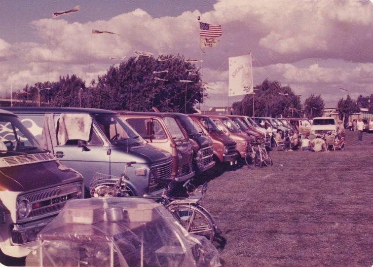 Northern California Van Council Throwback Thursday 1975 West Coast Nationals King City