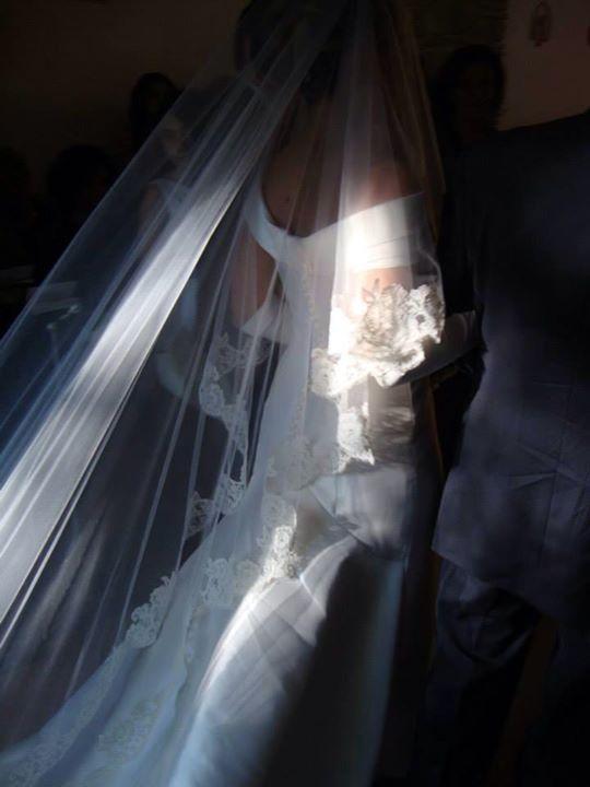 Barbara una delle spose di Cinzia Ferri! www.cinziaferri.com