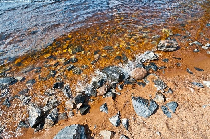 Ranta - kivi Oulunjärvi