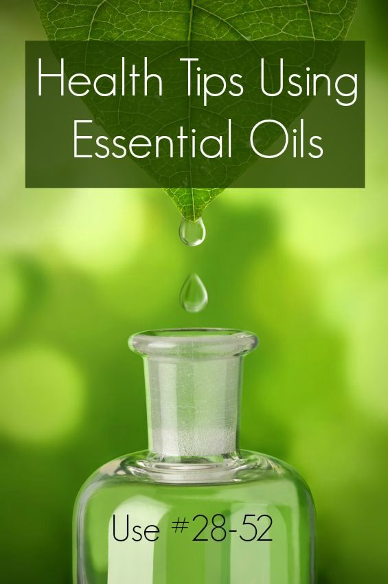 Health Tips Using Essential Oils